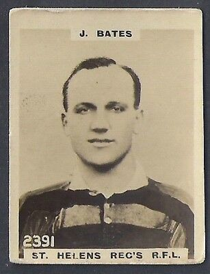 Pinnace Football-Pinnace Back-#2391- Rugby - St. Helens Reg's R.f.l - J. Bates