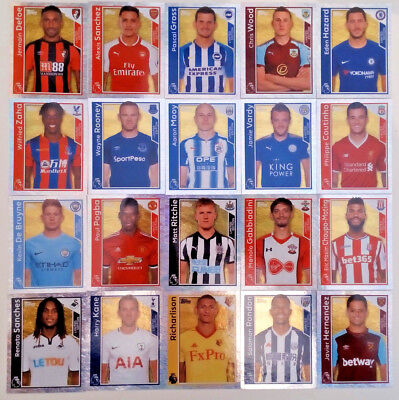 Topps - Merlin PREMIER LEAGUE 2018 LIMITED EDITION STICKERS 2017/18