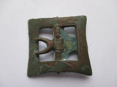 Interesting medieval belt buckle.