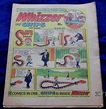 Whizzer & Chips Comic 7th June 1975