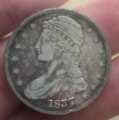 1837 Capped Bust half dollar '50 cents' reverse