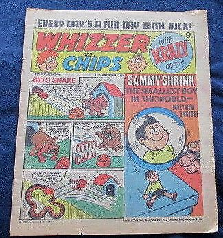 Whizzer & Chips Comic 14th October 1978