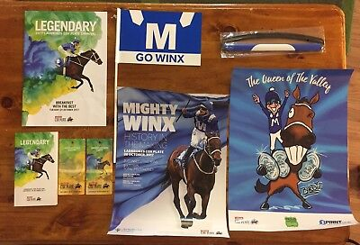 Mighty Winx Memorabilia Cox Plate 2017 Collectable Horse Racing Christmas Gift