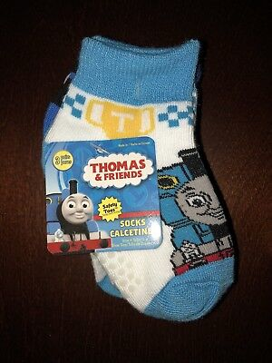 Thomas and Friends Set of 3 Pairs Socks Fits Shoe Size 4-7 New