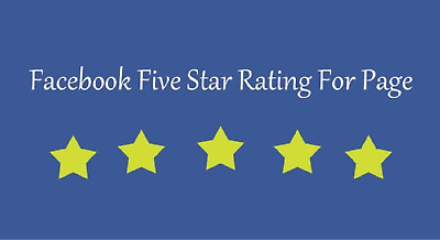 give you 50 Facebook five star rating on your fan page