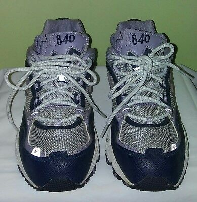 New Balance all terrain 840  Womens Tenni shoes color gray/black Size 5.5 M New