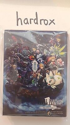 Final Fantasy Card TCG Sleeves Hüllen WOFF world of only from Japan!