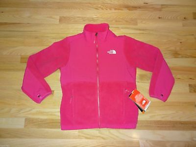 New Girls North Face Denali Fleece Jacket Large 14/16 Passion Pink NWT $109