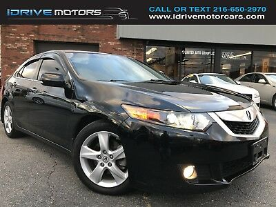 2010 Acura TSX Base Sedan 4-Door 2010 Acura TSX with Tech Package and 6spd Manual