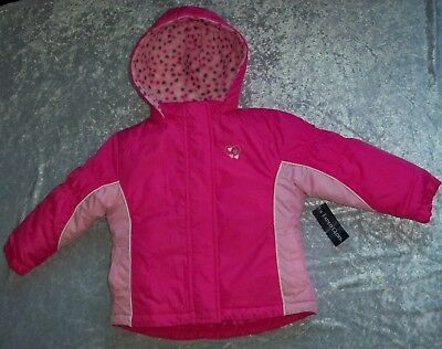 New Girls 4 in 1 Hooded Convertible Winter Coat / Jacket Size 24m