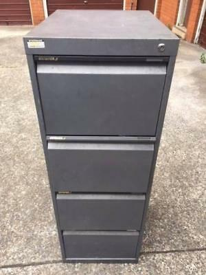 Filing cabinet 4 drawer with suspension files