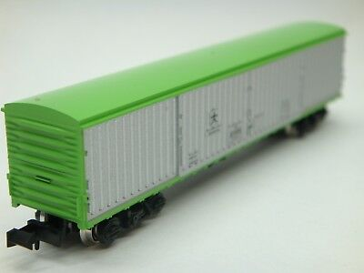 Kato 8004 JNR Freight Car Green & Silver Wagon/Carriage 10000 N Scale - In Case