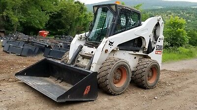 2006 Bobcat S300 Skid Steer Fully Loaded High Flow Sjc 2 Speed Ready To Work!