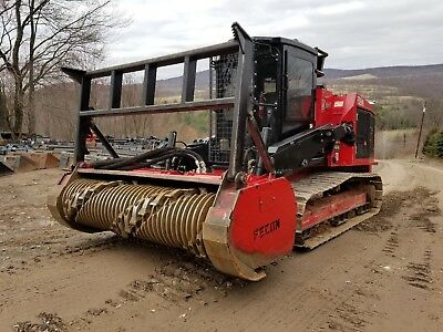 Deere 333D Track Skid Steer Fully Loaded Forestry Package Mulching Head In Pa!