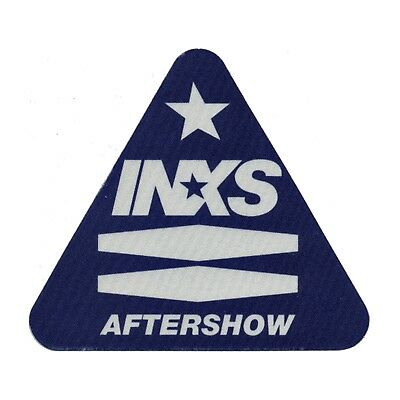 INXS authentic Aftershow 1997 tour Backstage Pass