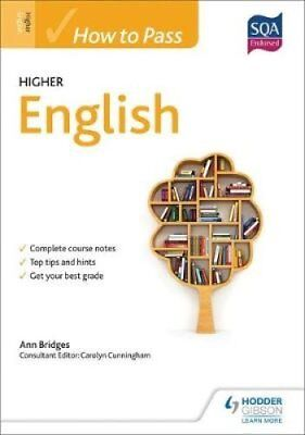 How to Pass Higher English by Ann Bridges 9781471808340 (Paperback, 2014)
