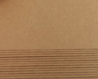 A4 Kraft Paper 250 gsm for DIY with Printing, 15 Sheets