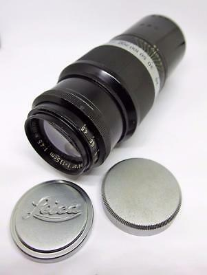 Vintage Leitz HEKTOR Leica Screwmount Lens, f/4.5 135mm Germany M39