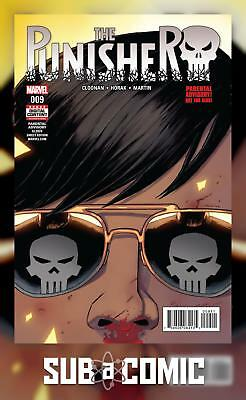 PUNISHER #9 (MARVEL 2017 1st Print) COMIC