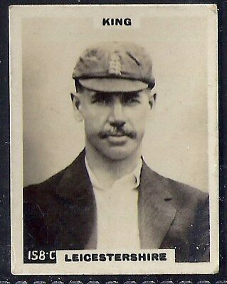 Pinnace Cricket (Kf198)-#158- Leicestershire - King