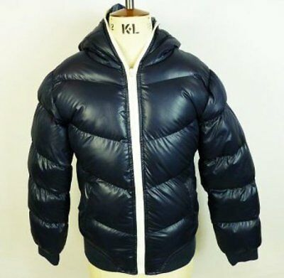 Girls Puffa Padded Quilted School Coat Jacket 7-8 years to 13 years Black Navy
