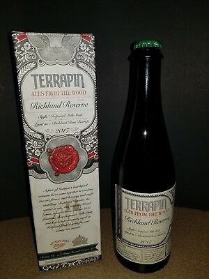 Terrapin  Ales From The Woods  Vol.2 *very Rare* Full Of Flavor😉*empty Bottle*