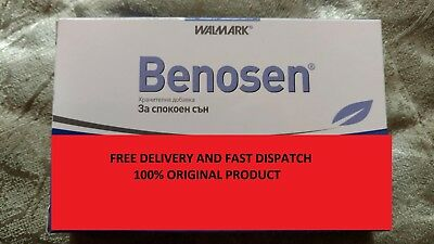 Benosen - 20 Sleeping Pills-Sleeping Depression I Anxiety Stress-Nasenne