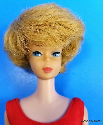 * RARE American Girl Face Sidepart Bubble Cut Barbie Doll #850 ~ Vintage 1960's