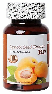 Vitamin B17/Amygdalin Highest Quality 100 capsules Free Delivery