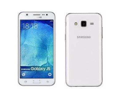 Samsung Galaxy J5 2015 in Weiß Handy Dummy Attrappe - Requisit, Deko, Werbung