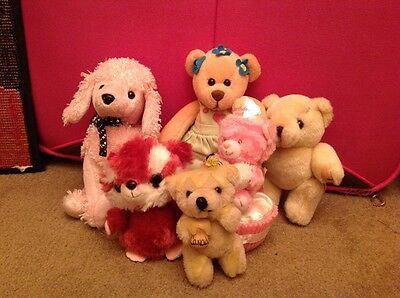 6 Figure Cuddly Toy Collection
