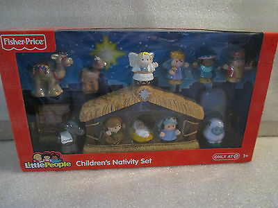 NEW Fisher Price Little People Children's Nativity Christmas Play Set Ages 1-4
