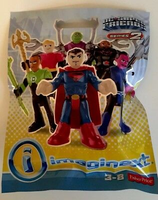 Imaginext DC Super Friends Series 2 Mystery Figure Pack Unopened Brand New