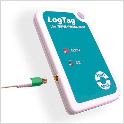 Logtag Temperature Data Logger With External Probe (Supp with Aust Tax Invoice)