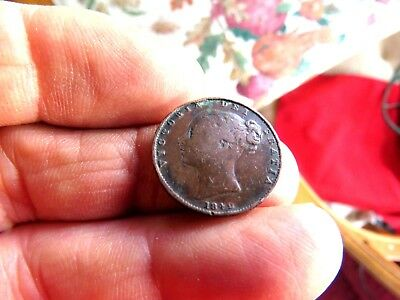 Great Britain (Uk) Better Date 1842 Farthing