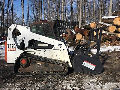 2008 Bobcat T320 with FRC60 Forestry Mulcher
