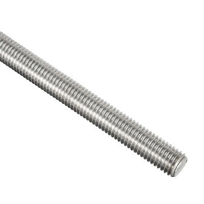 M12 x 500mm Fully Threaded Rod 304 Stainless Steel Right Hand Threads