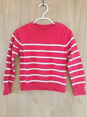 Gap Girl's Striped Sweater Size 5T Pre-owned