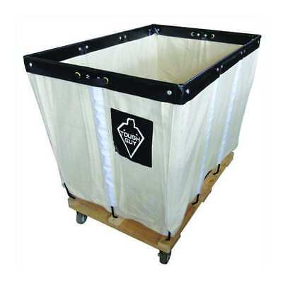 Basket Truck,12 Bu. Cap.,White,36 In. L TOUGH GUY 33W339