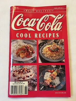 Coke Cola Cool recipes Cook Book Soft Bound