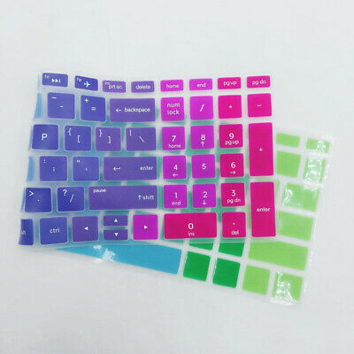 Removable Silicone Keyboard Protector Cover Skin For HP 15.6 inch BF Desktop