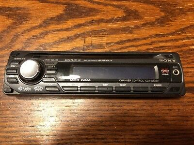Sony Cdx-Gt320 Faceplate