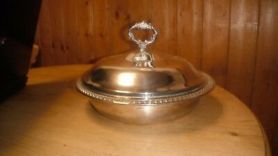 Vintage Silver Plated Tureen Serving Dish