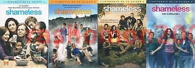DVD SHAMELESS USA TV SERIES SEASON 1+2+3+4 Emmy Rossum William H Macy Region 2