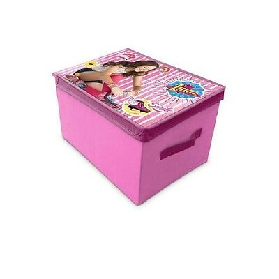 Storage Box Child Disney Soy Luna Pink