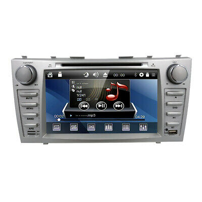 "2Din Car DVD GPS 8"" Player Radio for Toyota Camry 2008 2009 2010 2011 with Map E"