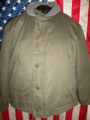 U.S. Navy Style N-1 Deck Jacket Middlesex Naval Uniform Co.Chest-56 Perfect!!!!