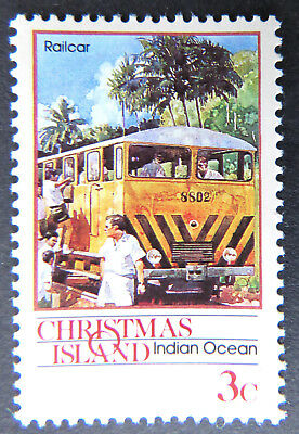 1990 Christmas Island Stamps - Transport Through the Ages - Pt I Single 3c MNH