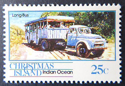 1990 Christmas Island Stamps - Transport Through the Ages - Pt I Single 25c MNH