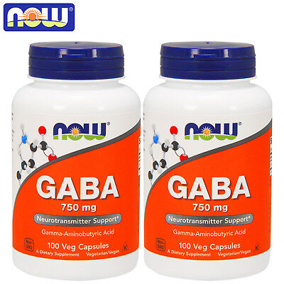 GABA 750 mg Pills Reduces Stress Promotes Mental Relaxation Better Quality Sleep